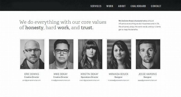 """Zakładka """"O Nas"""" na stronie internetowej"""