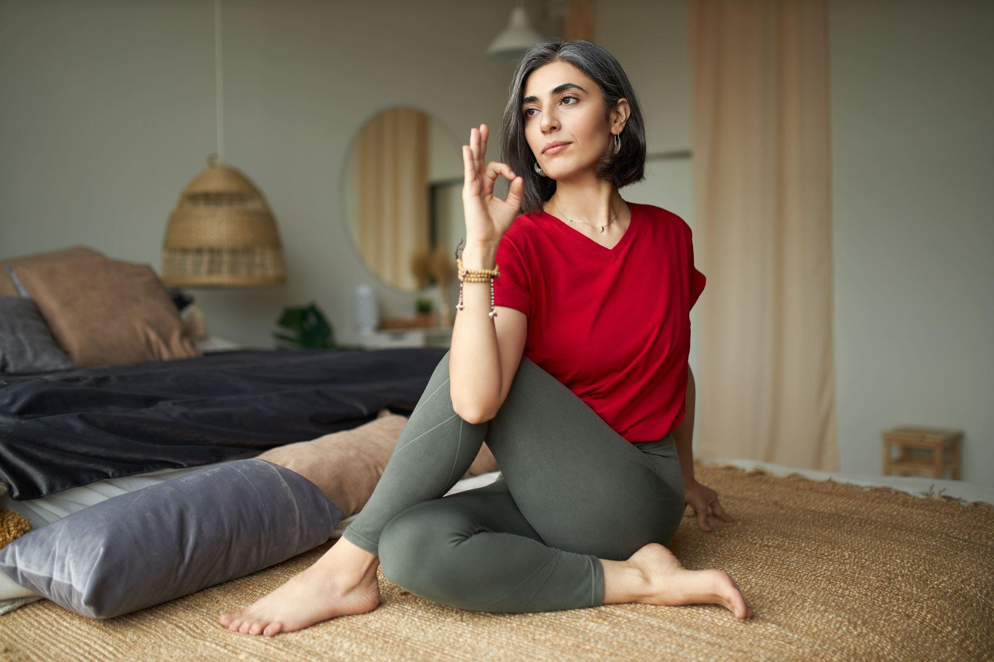 joga - sposób na stres