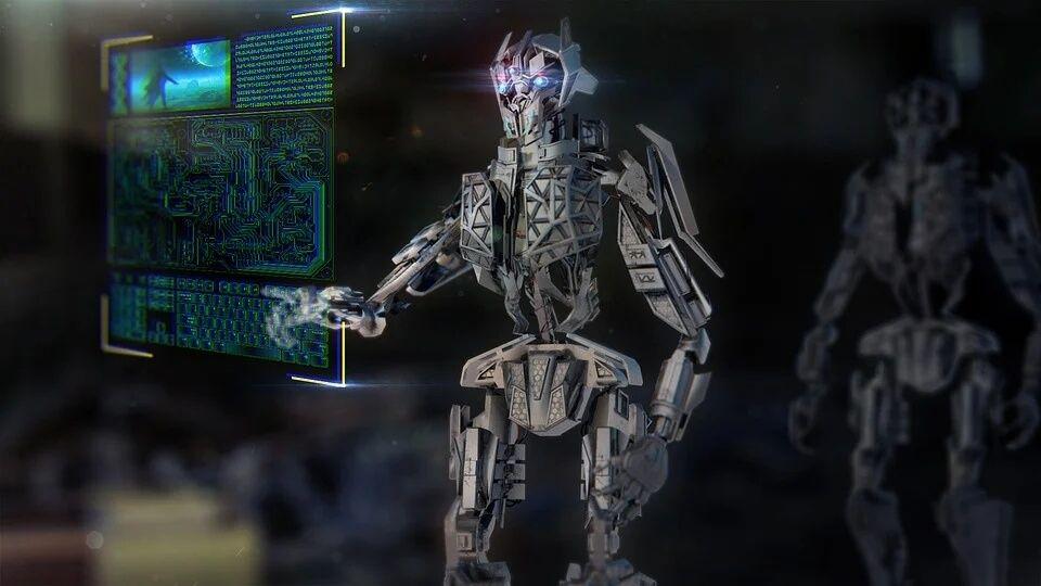 grafika robot