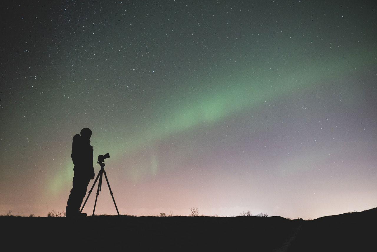 nocna fotografia - zorza