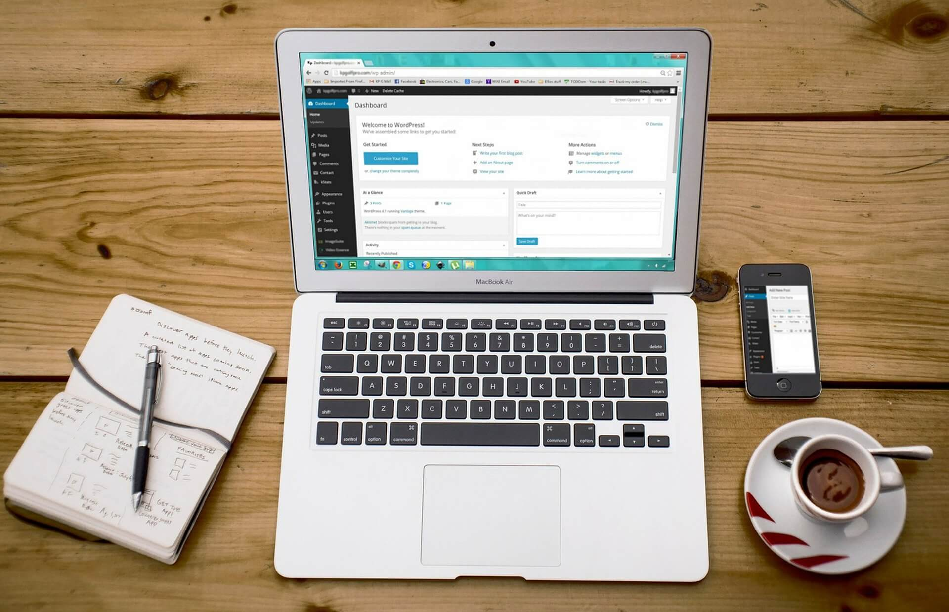 Praca na Wordpress