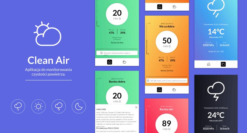 aplikacja w Flutter i Dart do sprawdzania pogody